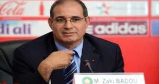 مجرد رأي الغابر الظاهر في إقالة بادو الزاكي licenciement de Badou Zaki
