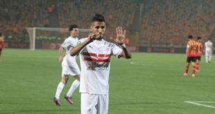 محمد أوناجم يثير الجدل في مباراة الزمالك المصري