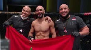 عثمان زعيتر يطيح بالأمريكي وورثي بالضربة القاضية