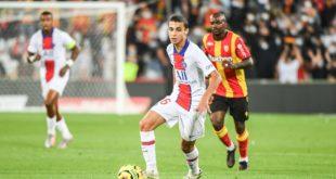 تحركات المغربي قيس رويز عطيل أمام لانس في الدوري الفرنسي