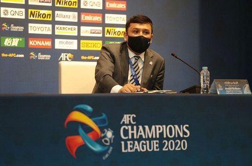 أفازبيك بير ديكولوف نائب مدير لجنة المسابقات وقسم فعاليات كرة القدم بالاتحاد الآسيوي
