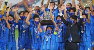 أولسان هيونداي الكوري الجنوبي، بلقب دوري أبطال آسيا، للمرة الثانية في تاريخه