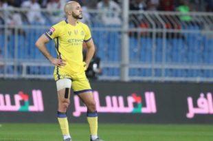 الدولي المغربي نور الدين أمرابط ، محترف فريق النصر السعودي